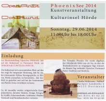 OPEN ARTS PHOENIX-SEE IN DORTMUND