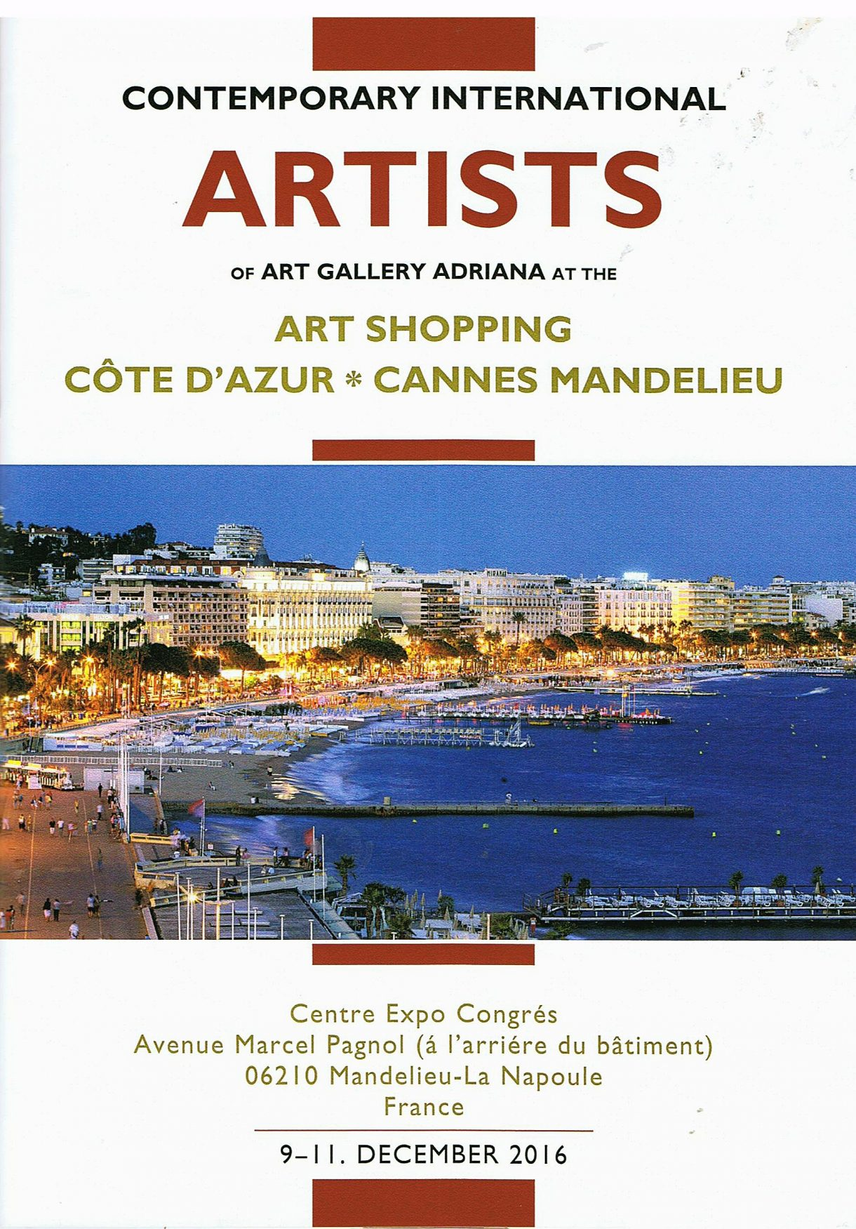 Katalog Art Cannes neu