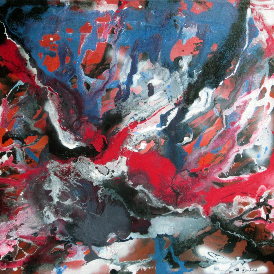 Sirod, Mischtechnik, 103 x 115,5 cm