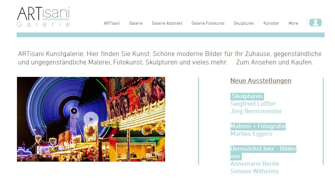 : Ausstellung Artisani Galerie Jutta Wendt
